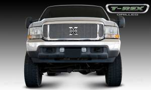 T-Rex - T-Rex 1999-2004 Super Duty  Upper Class STAINLESS POLISHED Grille 54571