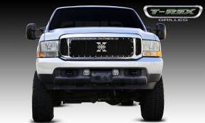 T-Rex - T-Rex 1999-2004 Super Duty  X-METAL STEEL BLACK Grille 6715701