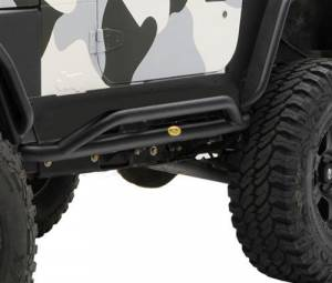 Body Armor - Rocker Armor & Accessories - Smittybilt - Smittybilt SRC Rocker Guard 76644