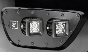 ZROADZ - ZROADZ CHEVROLET COLORADO Front Bumper Fog LED Mount Z322671
