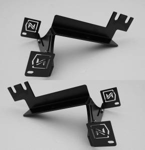 ZROADZ - ZROADZ CHEVROLET SILVERADO 1500 Rear Bumper LED Mounting Brkts Z382051