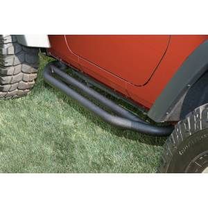 Body Armor - Rocker Armor & Accessories - Rugged Ridge - Rugged Ridge RRC Side Armor Guards; 07-16 Jeep Wrangler JK 11504.21