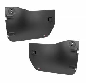 Body Armor - Rocker Armor & Accessories - Rugged Ridge - Rugged Ridge Half Doors, Front; 07-16 Jeep Wrangler JK 11509.01