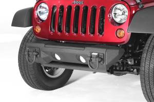 Exterior - Bumpers - Rugged Ridge - Rugged Ridge All Terrain Modular Front Bumper; 07-16 Jeep Wrangler JK 11542.02