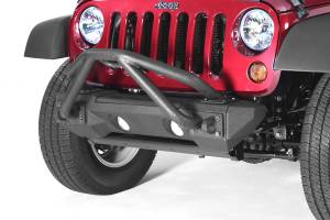 Winches - Winch Mounting & Accessories - Rugged Ridge - Rugged Ridge All Terrain Double X Striker Mini-Stinger; 07-16 Jeep Wrangler JK 11542.13