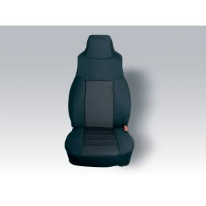 Interior - Seat Covers - Rugged Ridge - Rugged Ridge Neoprene Front Seat Covers, Black; 91-95 Jeep Wrangler YJ 13211.01
