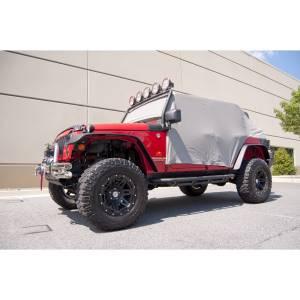 Tonneau Covers & Accessories - Truck Bed Accessories - Rugged Ridge - Rugged Ridge Cab Cover, Gray; 07-16 Jeep Wrangler JKU 13318.09