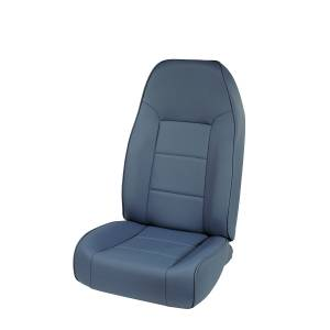 Interior - Seats & Mounts - Rugged Ridge - Rugged Ridge High-Back Front Seat, No-Recline, Blue; 76-02 Jeep CJ/Wrangler YJ/TJ 13401.05