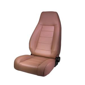 Interior - Seats & Mounts - Rugged Ridge - Rugged Ridge High-Back Front Seat, Reclinable, Tan; 76-02 Jeep CJ/Wrangler YJ/TJ 13402.04