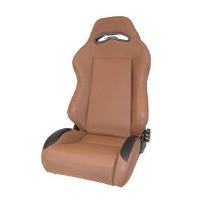 Interior - Seats & Mounts - Rugged Ridge - Rugged Ridge Sport Front Seat, Reclinable, Spice; 76-02 Jeep CJ/Wrangler YJ/TJ 13405.37