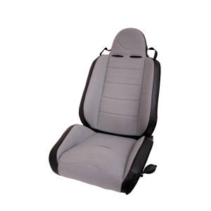 Interior - Seats & Mounts - Rugged Ridge - Rugged Ridge RRC Off Road Racing Seat, Reclinable, Gray; 76-02 CJ/Wrangler YJ/TJ 13406.09