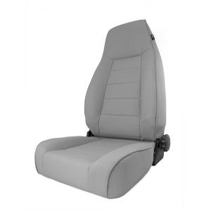 Interior - Seats & Mounts - Rugged Ridge - Rugged Ridge High-Back Front Seat, Reclinable, Gray; 84-01 Jeep Cherokee XJ 13445.09