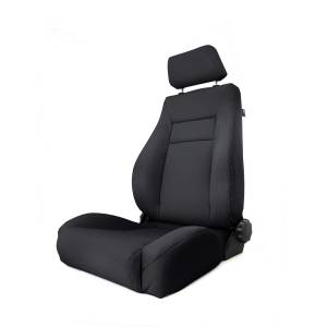 Interior - Seats & Mounts - Rugged Ridge - Rugged Ridge Ultra Front Seat, Reclinable, Black Denim; 84-01 Jeep Cherokee XJ 13446.15