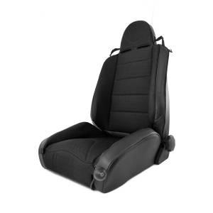 Interior - Seats & Mounts - Rugged Ridge - Rugged Ridge RRC Off Road Racing Seat, Reclinable, Black; 84-01 Jeep Cherokee XJ 13448.15