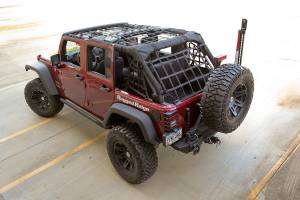 Interior - Storage & Cargo Baskets - Rugged Ridge - Rugged Ridge Cargo Net, Black; 07-16 Jeep Wrangler JK 4 Door 13552.71