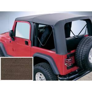 Exterior - Soft Tops - Rugged Ridge - Rugged Ridge Soft Top Khaki, Tntd Windows; 03-06 Wrangler TJ 13709.36