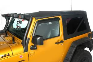 Exterior - Soft Tops - Rugged Ridge - Rugged Ridge Soft Top, Black Diamond; 10-16 Jeep Wrangler JK 13737.01