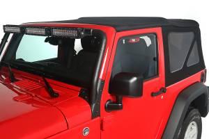 Exterior - Soft Tops - Rugged Ridge - Rugged Ridge Soft Top, Black Diamond; 10-16 Jeep Wrangler JK 13737.35