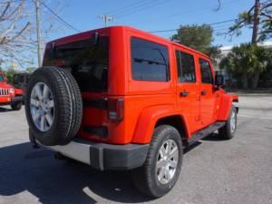 2015 Jeep Wrangler Unlimited Sahara - Image 7