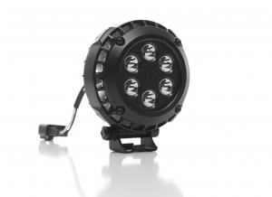 "KC HiLiTES - KC HiLiTES 4"" Round LZR LED Pair Pack System - Black - KC #300 300"