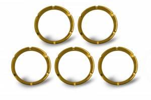 Lighting - Mounts & Wiring - KC HiLiTES - KC HiLiTES KC FLEX Bezels - Gold ED Coated (5 pack) - #30562 30562