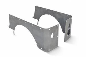 Body Armor - Corner Armor - Poison Spyder - Poison Spyder Poison Spyder CJ-7 Crusher Corners Stock (Steel) - Raw 11-04-010
