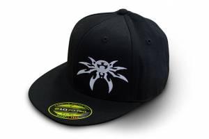 Apparel & Gear - Hats - Poison Spyder - Poison Spyder Poison Spyder Psc Blk Flat Hat L/Xl Black 50-46-203-L