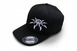 Apparel & Gear - Hats - Poison Spyder - Poison Spyder Psc Blk Flx Hat S/M Black 50-46-201-S