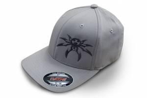Apparel & Gear - Hats - Poison Spyder - Poison Spyder Psc Lt Gry Flx Hat S/M 50-46-206-S