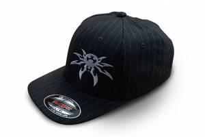 Apparel & Gear - Hats - Poison Spyder - Poison Spyder Psc Pin Flx Hat L/Xl Pin Stripe 50-46-202-L