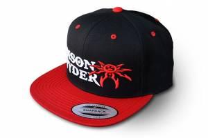 Apparel & Gear - Hats - Poison Spyder - Poison Spyder Psc Snapback - Red/Blk 50-46-282