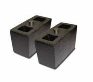 Pro Comp Suspension - Pro Comp Suspension 1 ALUMINUM BLOCK 2.5in SELL 95-254FB PAIR 95-254F