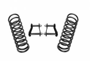Pro Comp Suspension - Pro Comp Suspension 2IN SUSPENSION LIFT KIT 50MM COILS AND SHACKLES K5090B